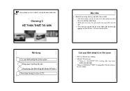 Kế toán tài chính 2 - Chương 3: Kế toán thuê tài sản