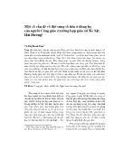 Một số vấn đề về thờ cúng tổ tiên ở dòng họ của người Công giáo (trường hợp giáo xứ Kẻ Sặt, Hải Dương)
