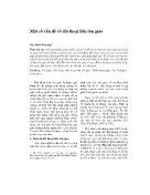 Nghiên cứu tôn giáo - Một số vấn đề về đối thoại liên tôn giáo