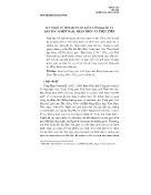 Nghiên cứu tôn giáo - Suy nghĩ về mối quan hệ giữa công giáo và dân tộc ở Việt Nam: nhận thức và thực tiễn