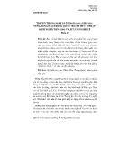 Nghiên cứu tôn giáo - Truyền thống nghi lễ tôn giáo địa phương vùng đông nam trung quốc thách thức về mặt định nghĩa tôn giáo và lý luận nghi lễ (phần 1)