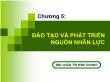 Quản trị kinh doanh - Chương 5: Đào tạo và phát triển nguồn nhân lực