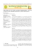 Nhân giống cây cát tường (eustoma grandiflorum l.) qua hai con đường phát sinh phôi sinh dưỡng và phát sinh cơ quan