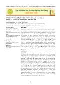 Nông nghiệp - Ảnh hưởng của peroxide hydrogen lên năng suất và chất lượng dưa lưới sau thu hoạch
