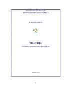 Giáo trình cho ngành địa chính & Quản lý Ðất ñai