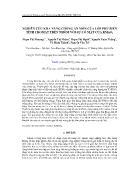 Nghiên cứu khả năng chống ăn mòn của lớp phủ biến tính cromat trên nhôm với sự có mặt của kmno4 - Phạm Thị Phượng