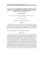 Tối ưu hóa các chỉ tiêu cơ tính khi cơ nhiệt luyện nhiệt độ cao hợp kim nhôm almgsi bằng phương pháp hàm nguyện vọng harrington - Nguyễn Khắc Thông