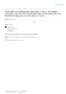 Trồng bần chua (sonneratia caseolaris (l.) engl.) thử nghiệm chắn sóng, hạn chế xói lở tại xã Hiệp Thạnh, huyện Duyên Hải, tỉnh Trà Vinh