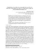 Ảnh hưởng của tương tác trao đổi vùng xa lên các tính chất nhiệt động lực học của chuỗi spin lượng tử với mô hình heisenberg XXZ - Phạm Hương Thảo
