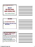 Bài giảng vật lí đại cương A2 - Chương 2: Vật dẫn trong điện trường tĩnh - Nguyễn Thị Ngọc Nữ