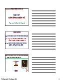 Bài giảng vật lí đại cương A2 - Chương 5: Cảm ứng điện từ - Nguyễn Thị Ngọc Nữ
