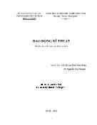 Dao động kĩ thuật - Thái Văn Nông