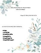 Môn kĩ thuật di truyền - Kĩ thuật chuyển gen
