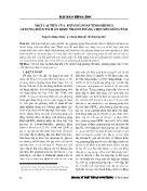 Một cải tiến của phương pháp timoshenko áp dụng phân tích ổn định thanh thẳng chịu nén đúng tâm - Nguyễn Hùng Tuấn