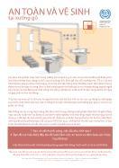 An toàn và vệ sinh tại xưởng gỗ