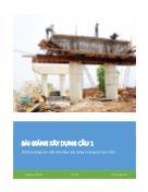 Bài giảng xây dựng cầu 1 - Đặng Huy Khánh