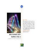 Bài giảng xây dựng cầu F2 - Đặng Huy Khánh