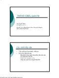 Giáo trình nhập môn Cơ sở dữ liệu - Chương 4: Thiết kế Cơ sở dữ liệu quan hệ - Vũ Tuyết Trinh