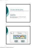 Giáo trình nhập môn Cơ sở dữ liệu - Chương 5: Tổ chức dữ liệu vật lý - Vũ Tuyết Trinh