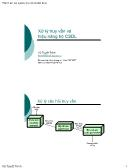 Giáo trình Thiết kế và quản trị cơ sở dữ liệu - Chương 4: Xử lý truy vấn và hiệu năng hệ Cơ sở dữ liệu - Vũ Tuyết Trinh
