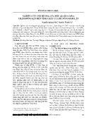 Nghiên cứu ảnh hưởng của phụ gia hóa dẻo, chậm đông kết đến tính chất của bê tông đầm lăn
