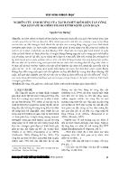 Nghiên cứu ảnh hưởng của tách chiết kiềm đến tấn công nội sulfate do hình thành ettringite gián đoạn