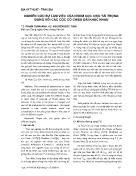 Nghiên cứu sự làm việc của nhóm cọc chịu tải trọng đứng với các cọc có chiều dài khác nhau