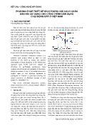 Phương pháp thiết kế kích thước gối cách chấn đàn hồi sử dụng cho công trình dân dụng chịu động đất ở Việt Nam